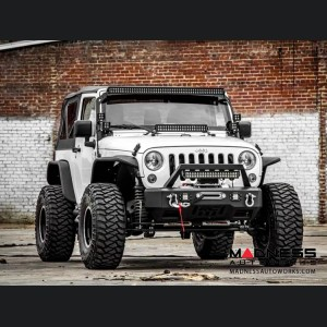 "Jeep Wrangler JK X-Series Suspension Lift Kit w/Vertex Reservoir Shocks - 4"" Lift"